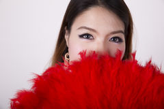 Cheongsam dress Stock Photography