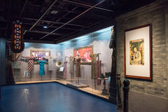 Cheongsam Exhibition Royalty Free Stock Images