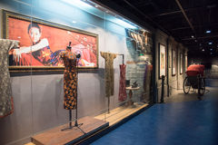 Cheongsam Exhibition Stock Image