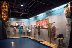 Cheongsam Exhibition Stock Photography