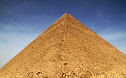 Cheops pyramid in Giza Royalty Free Stock Image