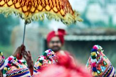 Cheos de baraat - Inde Photographie stock libre de droits