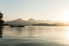 Cheow Lan lake. Khao Sok National Park. Thailand. Royalty Free Stock Photos