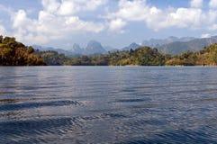Cheow Lan Lake or Rajjaprabha Dam Reservoir, Thailand Royalty Free Stock Image