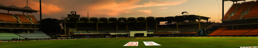 Chepauk cricket stadium Royalty Free Stock Image