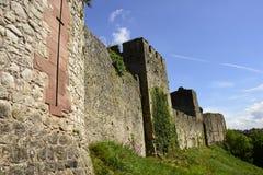 Chepstow城堡 库存照片