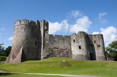 Chepstow castle Ruins Royalty Free Stock Photos