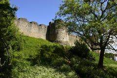 Chepstow-Schloss Stockbild
