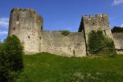 Chepstow-Schloss Lizenzfreies Stockfoto