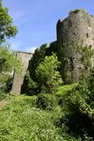Chepstow-Schloss Stockfotos