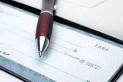 Cheque Stock Photography