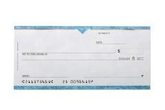 Cheque Stock Photo