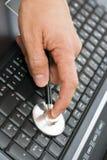 Chequeo Imagen de archivo libre de regalías