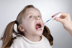 Chequeo del diente Imagen de archivo libre de regalías