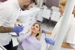 Chequeo dental foto de archivo libre de regalías