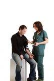 Chequeo médico Imágenes de archivo libres de regalías