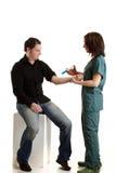 Chequeo médico Fotografía de archivo libre de regalías
