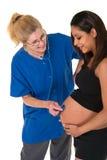 Chequeo prenatal Foto de archivo