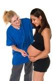 Chequeo prenatal Fotografía de archivo