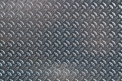 Chequer metal texture. Or background royalty free stock images
