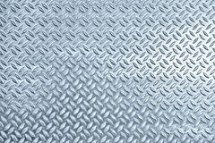 Chequer metal texture. Or background stock image