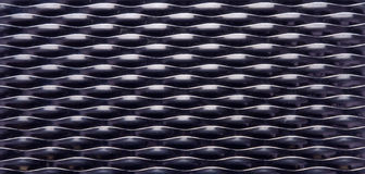 Chequer metal texture Stock Image