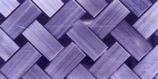 Chequer metal texture. Or background royalty free stock image