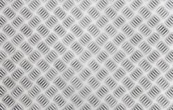 Chequer metal texture Royalty Free Stock Photos