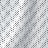 Chequer Plate. Diamond polished steel alumnium plate royalty free illustration