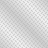 Chequer Plate Metal Background Stock Photography