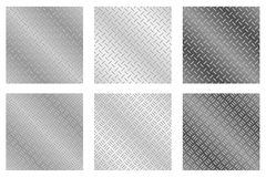 Chequer Plate Metal Backgrounds Stock Photo