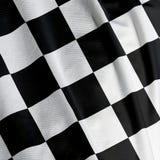 chequered флаг крупного плана Стоковая Фотография RF
