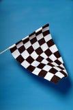 chequered флаг Стоковое Изображение
