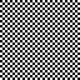 checkered black and white illustration useful as a background Royalty Free Stock Photography