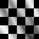 Chequered flag. With some folds Stock Photo