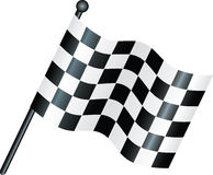 Chequered flag Royalty Free Stock Photos