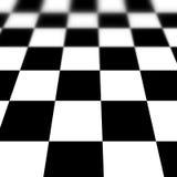 Chequered floor vector illustration