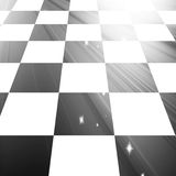 Chequered floor Royalty Free Stock Image