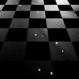Chequered floor Royalty Free Stock Photo