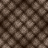Chequered pattern wooden brown background Stock Photo