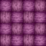 Chequered pattern wooden violet background Stock Photography