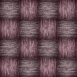 Chequered pattern wooden violet background Royalty Free Stock Photography