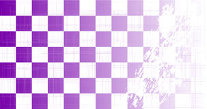 Chequered Purple Grunge Royalty Free Stock Photography