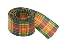 Chequered ribbon Stock Image