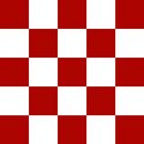 Chequered wzór Obrazy Stock