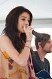 Cher Lloyd. ROSEVILLE, CA – August 8: Lloyd Cher performs live at Galleria shopping mall in Roseville, California on August 8, 2012 stock photography