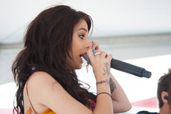Cher Lloyd Fotos de Stock Royalty Free