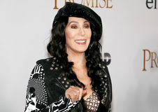 Cher. At the Los Angeles premiere of `The Promise` held at the TCL Chinese Theatre in Hollywood, USA on April 12, 2017 Stock Photos