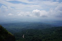 Cherapunjee Shillong India Zdjęcia Royalty Free