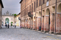 Cherasco cuneo Royalty Free Stock Photos